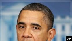 奧巴馬總統星期六呼籲國會通過延長工資稅減稅方案