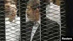 Mohamed Morsi, en prison au Caire, début novembre