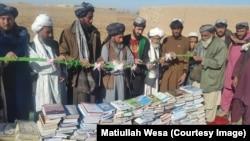 کمپاین جمع آوری کتاب: مطیع الله ویسا