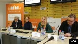 Konferencija Kvartalnog medijametra u Medijacentru u Beogradu, 31. januara 2019.