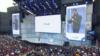 CEO Google Sundar Pichai memberikan kata sambutan dalam konferensi Google, I/O 2018, di Mountain View, California, 8 Mei 2018.
