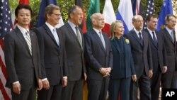 La secretaria de Estado, Hillary Clinton, fue anfitriona de la reunión del G-8 en Washington.