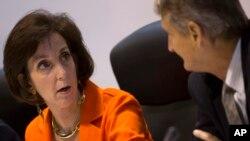 La secrétaire d'Etat adjointe américaine Roberta Jacobson a profité de son séjour à Cuba pour rencontrer des opposants au régime Castro (AP)