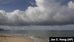 2015年8月25日夏威夷檀香山海滩