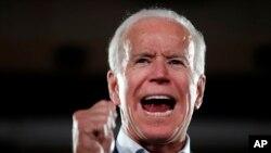 រូបឯកសារ៖អតីតអនុប្រធានាធិបតីអាមេរិក លោក Joe Biden