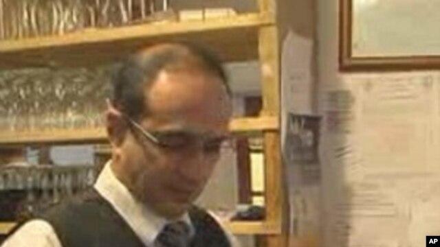 Farid Hashimi is the manager of an Afghan restaurant in Arlington, Virginia.