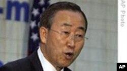 潘基文敦促各国锁定气候变化协议