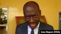 Edmond Sougue, à Ouagadougou, le 30 novembre 2018. (VOA/Issa Napon)