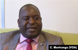 Steady Kangata from Zimbabwe's Environmental Management Agency says the government-appointed body is working to ensure any disturbance of wetlands and stream banks is minimal.