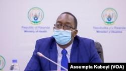 Minisitiri w'ubuzima mu Rwanda Dr Ngamije Daniel