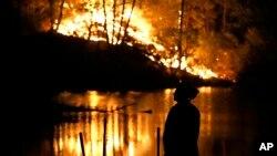 加州北部山火