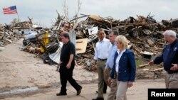 El presidente Obama instó a los estadounidenses a entregar ayudas a los damnificados a través de la Cruz Roja.