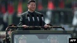 Ông Tập Cận Bình trong chuyến thăm Hong Kong giữa năm 2017.