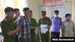 Ông Lê Chí Thành bị bắt hôm 14/4/2021. Photo Congan.