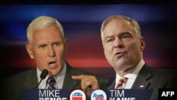 Pence (pour Trump) contre Kaine (pour Clinton) ce mardi soir, à partir de 19 heures en Virginie.