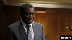 Le Denis Mukwege, prix Sakharov 2014 du Parlement européen