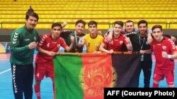 اعضای تیم ملی زیر سن ۲۰ سال فوتسال افغانستان