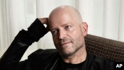 "FILE - Marc Forster, director of ""All I See Is You,"" poses for a portrait in New York, N.Y., Oct. 16, 2017."