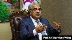 HDP Eş Genel Başkanı Mithat Sancar gazetecilerin sorularını yanıtladı.