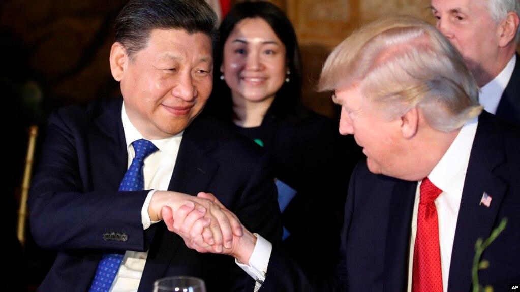 Си Цзиньпин и Дональд Трамп. 6 апреля 2017.
