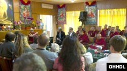 """The Mind and Life XXVI conference """"Mind, Brain and Matter - Critical Conversations Between Buddhist Thought and Science"""" from Drepung Monastery in Mundgod, Karnataka, India, on January 17-22, 2013."""