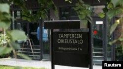Corte de Tampere, Finlandia, donde se llevó a cabo el juicio contra los voleibolistas cubanos.