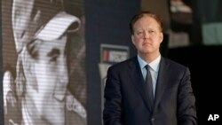 FILE - NASCAR Chairman Brian France, pictured May 23, 2018, was arrested Sunday in New York's Hamptons for driving while intoxicated and criminal possession of oxycodone.