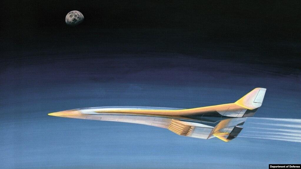 美国国防部超高音速武器研制示意图。(photo:VOA)