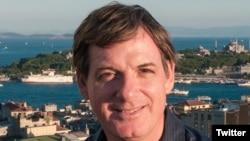 Nhà báo theo dõi khu vực Đông Nam Á của BBC Jonathan Head. (Ảnh trên trang Twitter của phóng viên Jonathan Head).