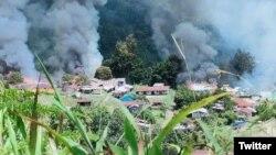 Distrik Kiwirok, Kab. Pegunungan Bintang (Pegubin), Papua. (Ilustrasi: Twitter/Irwan2yah)