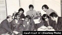 د رادیو افغانستان یو شمیر پخواني ممثلین چې د میرمن حمیدې همکاران وو