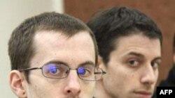 Hai người Mỹ leo núi Josh Fattal và Shane Bauer đang bị cầm tù tại Iran