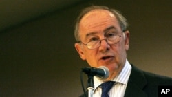 Former IMF director Rodrigo de Rato (file photo).