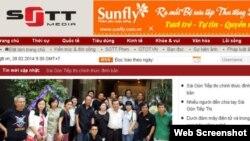 Trang web báo điện tử Sài Gòn Tiếp Thị