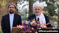 رئیس جمهور غنی پس از ادای نماز عید، طی صحبتی با رسانه ها، عید قربان را به مردم افغانستان تبریک گفت