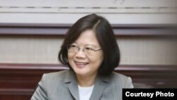 台灣總統蔡英文(摘自蔡英文臉書)