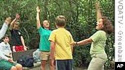 美国北卡的自闭症儿童夏令营