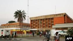 L'hôpital universitaire de Lusaka, la capitale zambienne, où une épidémie de choléra fait rage depuis Octobre 2017.