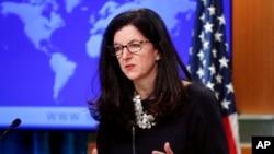 美国负责西半球事务的助理国务卿布雷埃尔(Kimberly Breier)