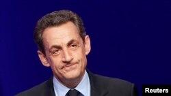 法國前總統薩科齊(資料圖片)