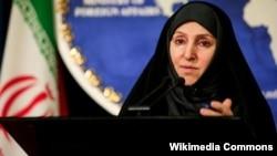 مرضیه افخم سخنگوی وزارت امور خارجه ایران