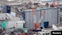 Gambar bangunan reaktor No.3 di PLTN Daiichi di Fukushima yang diopersaikan oleh Tokyo Electric Power Co. (TEPCO), 18 Juli 2013 yang lalu (Foto: dok).