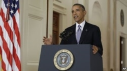 President Obama Urges Action On Syria