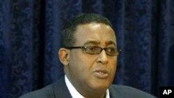 Somalia's embattled Prime Minister Omar Abdirashid Ali Sharmarke