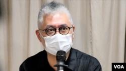 """香港政治學者、高教公民召集人黃偉國表示, 中國必須透過制訂""""港版國安法""""展示外交上強硬的姿態。(美國之音湯惠芸)"""