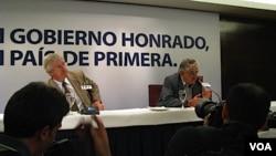 """Astori y Mujica dijeron a los medios internacionales que le darán """"continuidad"""" al gobierno de Tabaré Vázquez."""