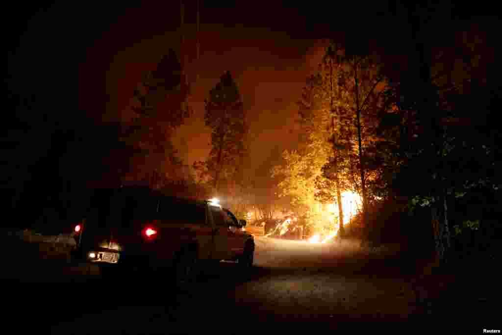 ریاستاوریگون میں 35 مختلف مقامات آگ کی لپیٹ میں ہیں۔ مجموعی طور پران مقامات کا رقبہ نیویارک سے دوگنا ہے۔