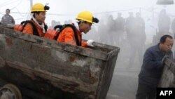 (Hình tư liệu) Hoạt động khai thác hầm mỏ ở Trung Quốc