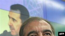Кадри Джамиль на пресс-конференции в Москве. 11 октября 2011 г.