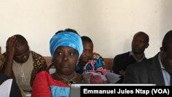 Delphine Nana, directrice du centre féminin pour la promotion du développement à Yaoundé, le 24 octobre 2019. (VOA/Emmanuel Jules Ntap)